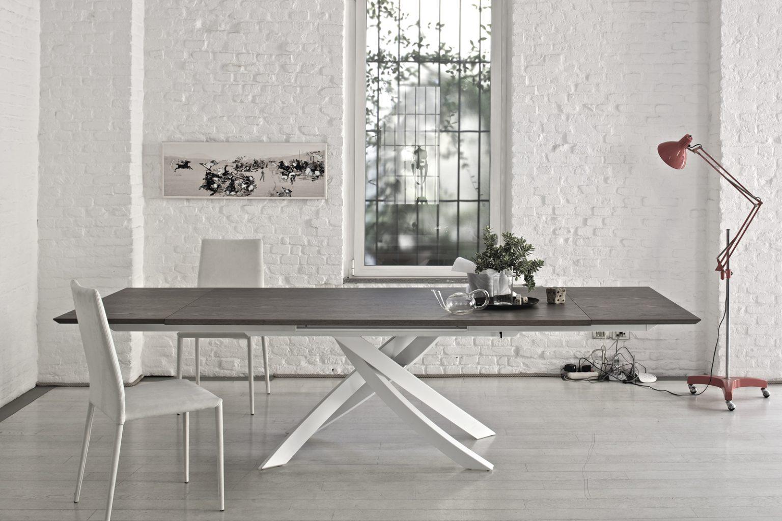 Tavoli e sedie zona living Latina